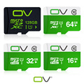 OV Real Capacity memory card 128GB 64GB 32GB 16GB micro sd card class10 UHS-1 flash card for mobile phone and smart drivce