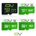 Ov tarjeta de memoria de la capacidad verdadera 128 gb 64 gb 32 gb 16 gb sd micro class10 de tarjeta UHS-1 tarjeta de memoria flash para el teléfono móvil y smart drivce