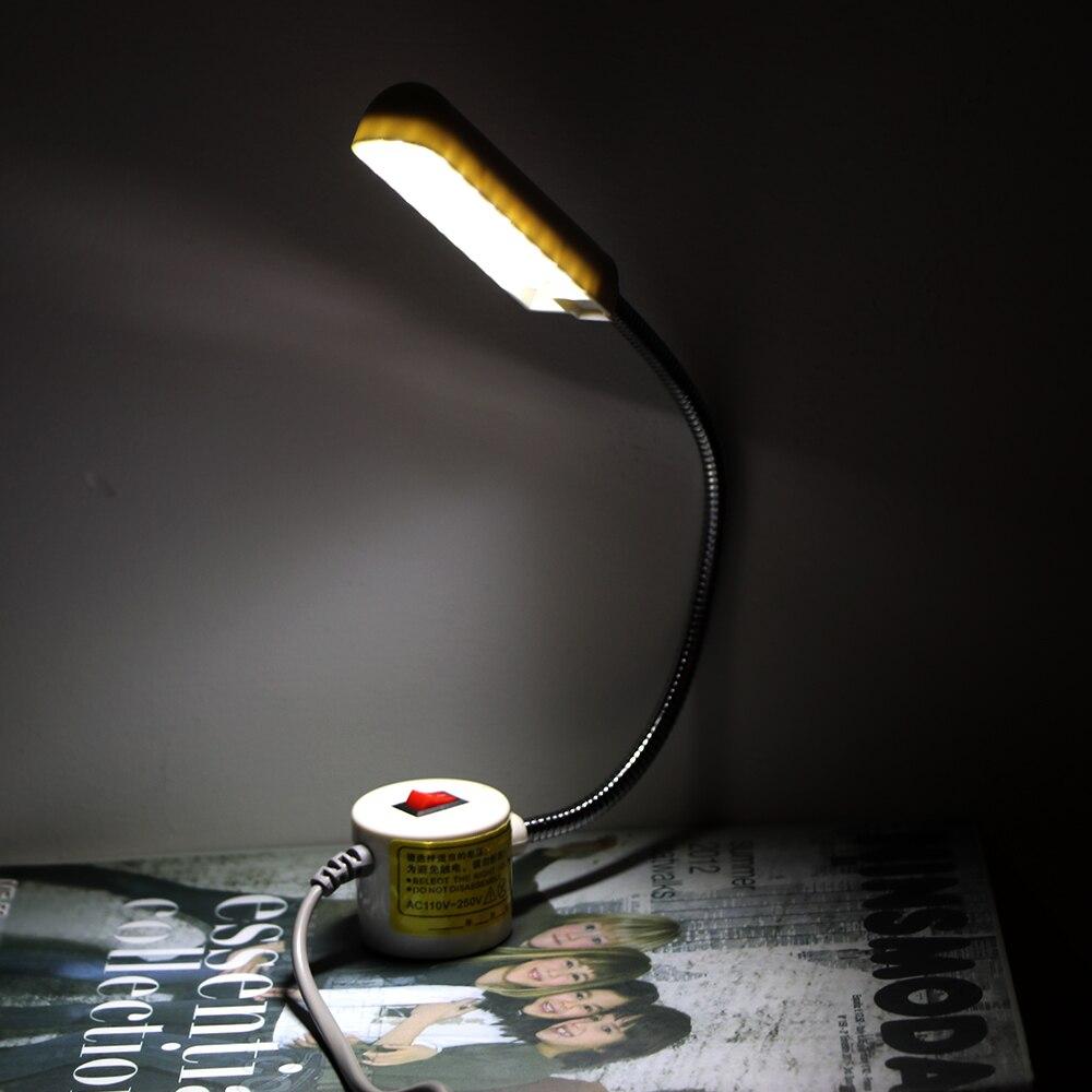 Systematisch Tragbare Nähmaschine Licht Led Licht 2 Watt 30led Magnetische Montage Basis Schwanenhals Lampe Für Alle Nähen Maschine Beleuchtung Geschickte Herstellung Licht & Beleuchtung