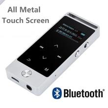 Original de la Pantalla Táctil Reproductor de MP3 8 GB BENJIE S5 Metal APE/FLAC/WAV de Alta Calidad de Sonido de Entrada nivel Lossless Reproductor de Música con FM