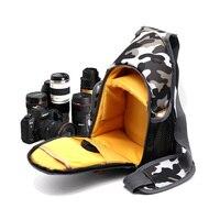 SLR Waterproof Camera Bag Case For Nikon D90 D750 D810 D800 D500 D5300 D3300 D3100 D3400