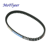 MoFlyeer Motorcycle Scooter Moped Rubber 669 18 30 Drive Belt For 50 80cc Gy6 Scooter 139QMB цена в Москве и Питере