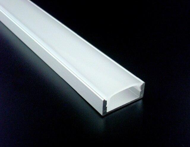 aliexpress koop 50x1 m 2208 aluminium profiel met frosted