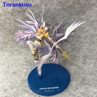 Digimon Monster Action Figure Angewomon Holly Arrow Anime Digimon Adventure Collectible Toys Kids Gift for Birthday Doll XP