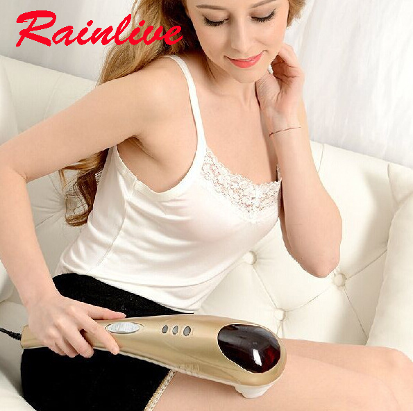 Women special-purpose Dolphin Massager Electric Cervical Vertebra Massage Device Health Beauty Care Body Massage Apparatus
