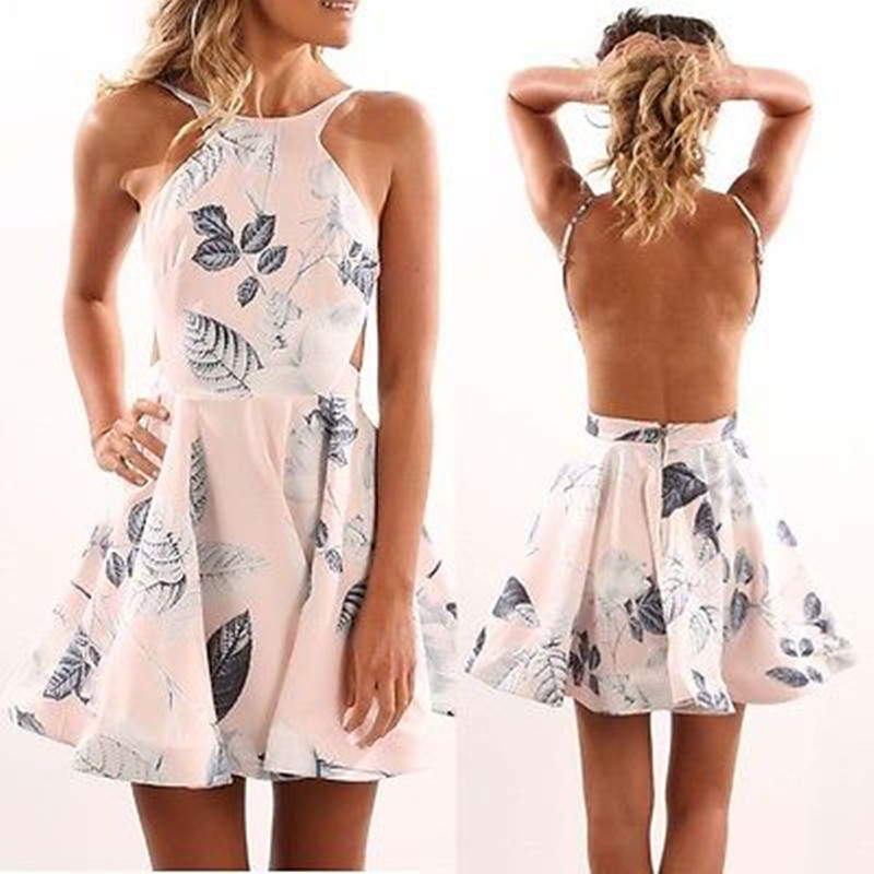buy fashion new women summer casual backless dress sexy bandage bodycon off. Black Bedroom Furniture Sets. Home Design Ideas