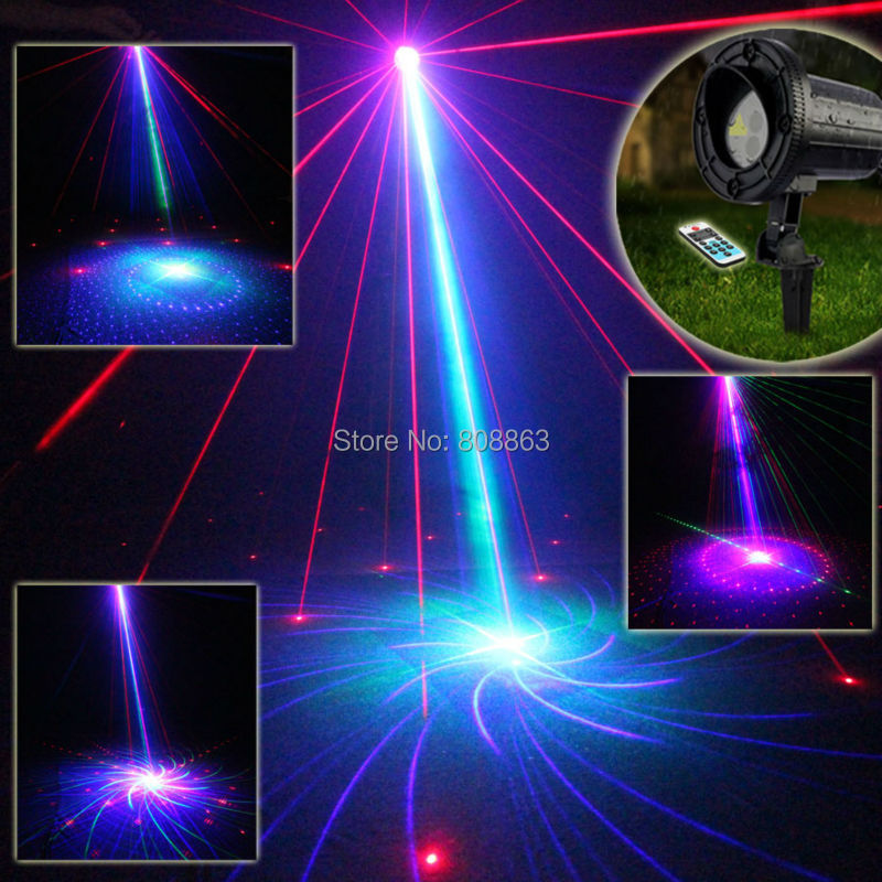 Outdoor Waterproof RGB Laser 24 Patterns Projector Remote Park Holiday Party House Tree Wall Garden Landscape Effect Light T64 mary pope osborne magic tree house cd edition books 17 24