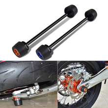 Rear Axle Slider Wheel Fork Crash Protector For KTM SXF SX XCF XC-F SX-F 125 250 350 300 450 2013-2019 2018 2017 2016 2015 2014 стоимость