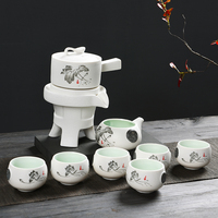 Exquisite Chinese Tea Cups Set Porcelain Gifts Teapot Infuser Loose Leaf Tea Service China Kung Fu Teaset Best Friends Gift B030