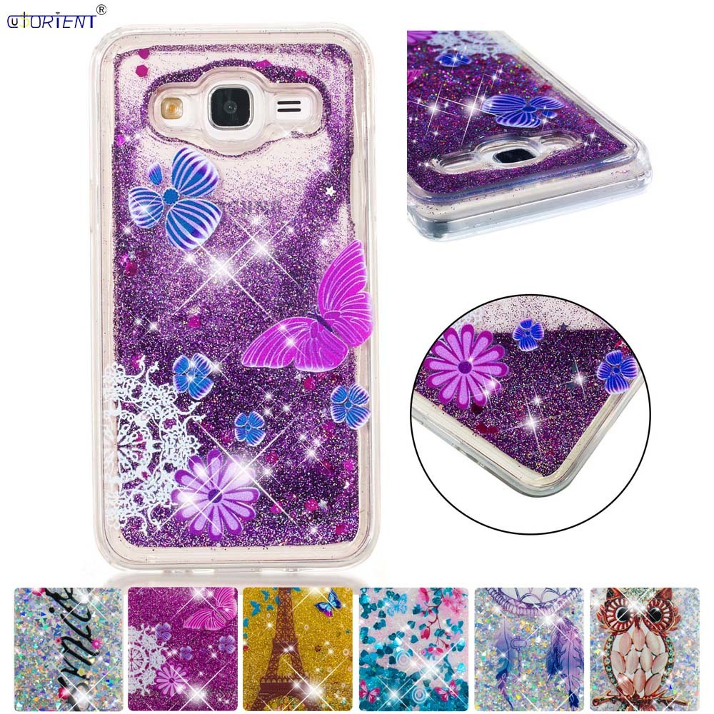Hard-Working Bling Glitter Case For Samsung Galaxy J5 2015 Fitted Phone Cases Sm-j500h/ds Sm-j500f/ds Dynamic Liquid Quicksand Silicone Cover Relieving Heat And Thirst. Phone Bags & Cases Half-wrapped Case