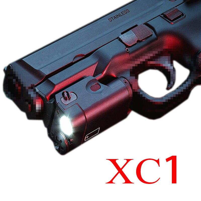 Gun-Light Airsoft-Flashlight Pistol GLOCK XC1 Tactical High-Lumens SF 17 MINI Lanterna