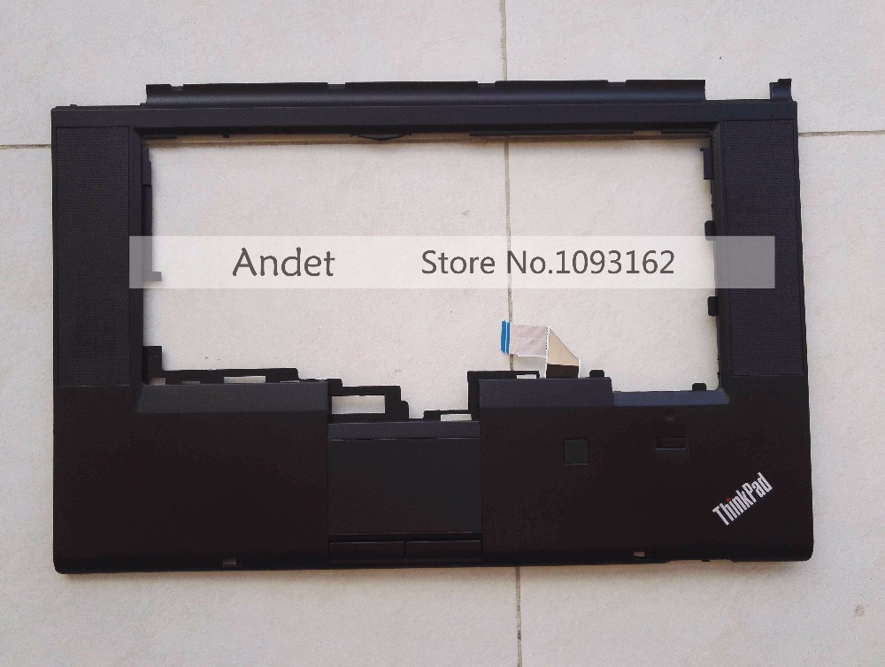 цены Lenovo ThinkPad T530 T530i W530 Palmrest Keyboard Bezel Upper Case Cover With Touchpad Fingerprint CS 04W6733 04W6821 04X4610