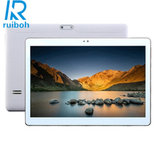 BDF-10.1 inch Tablet PC Android 5.1 4GB RAM 32GB ROM 3G Call Dual SIM Octa-Core GPS Wifi 3G Tablet PC Package series White