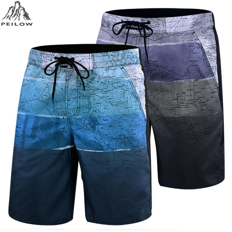 New Hot Quick Dry Board   Shorts   Mens Bermudas   Shorts   Plus Size 5XL 6XL Beachshorts Fashion Boardshorts Men's Casual   Shorts