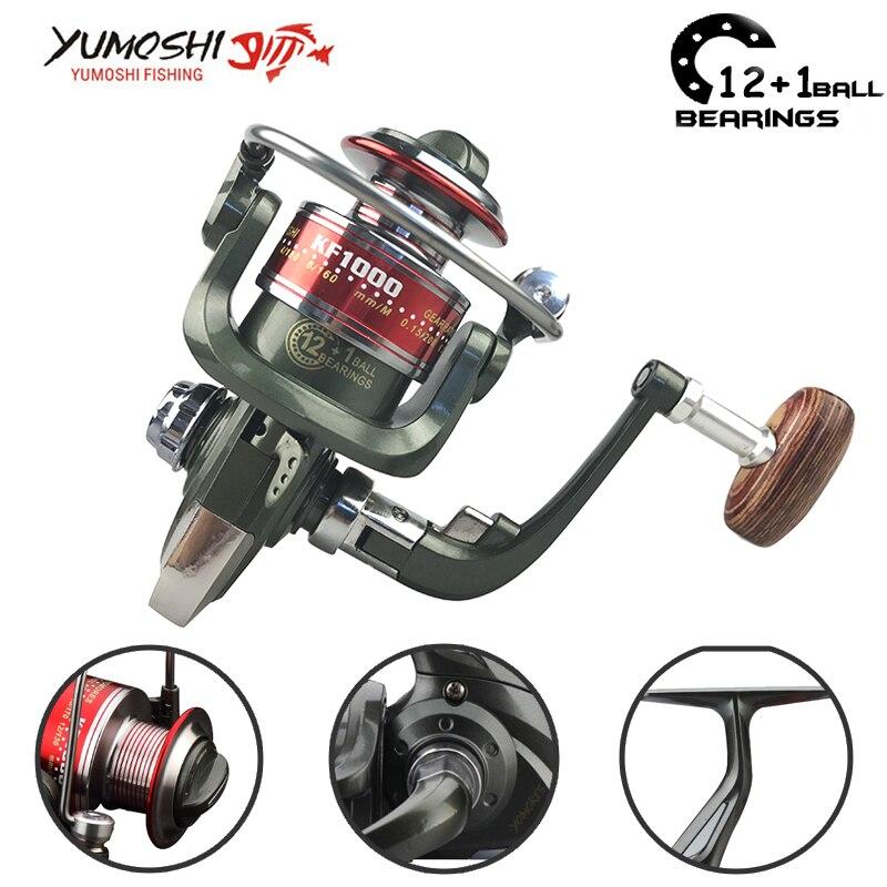 Yumoshi 1000 7000 12 1bb fishing reel fly reel fishing for Fly fishing reels for sale