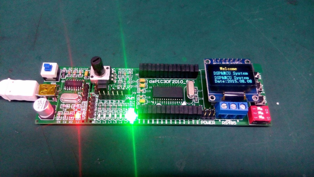 DsPIC Development Board DsPIC Experimental Board DSP System Board DsPIC30F2010 Development Board