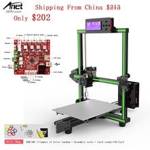2018 Anet E2 3d Printer Kit Easy Assembly Delta impresora 3d Reprap i3 DIY Kit LCD Screen 3d Printer with 1kg PLA/ABS Filament все цены