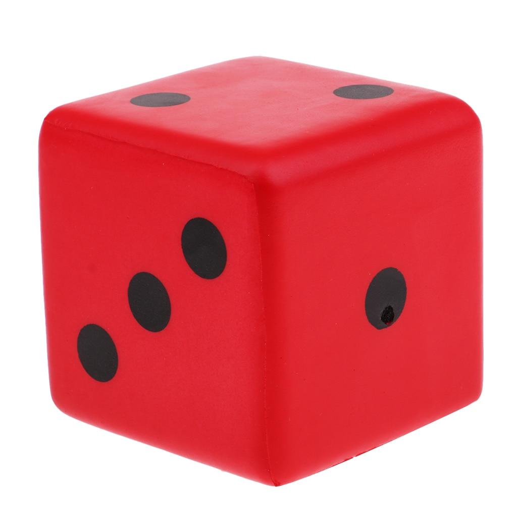 Sponge Dice Dot Würfel spielen Würfel für Math Lehre Vent Spielzeug