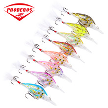Crank Bait Fat Hard 110mm/13g Fishing Lure Artificial Tackle Topwater Wobbler Diving 3.5m Popper Acesorios