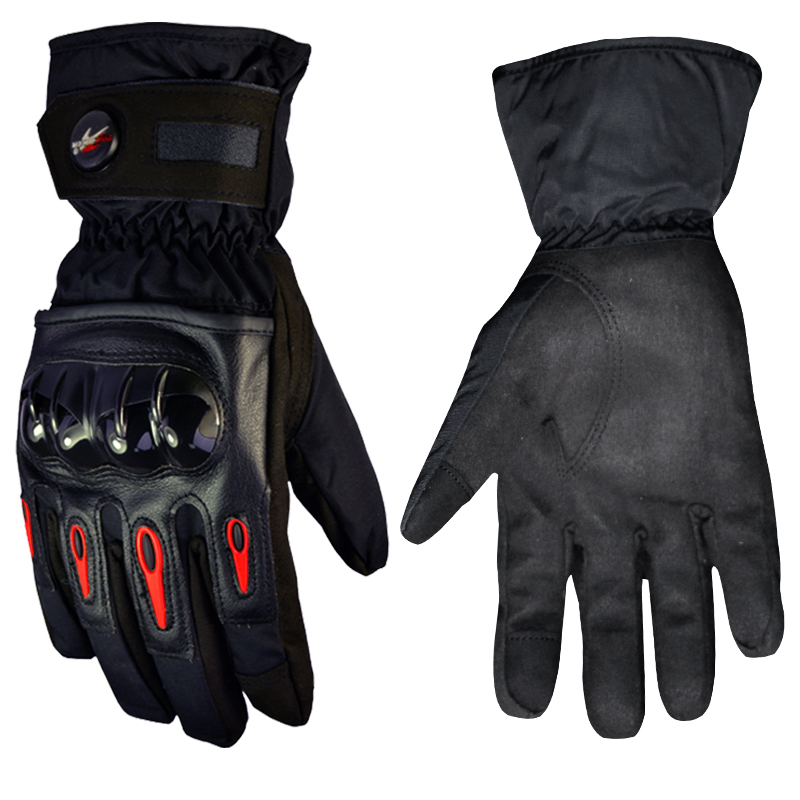 Motorcycle Gloves Waterproof full finger Winter Windproof Warm Protective gear Racing Motocross Moto Gloves luvas Guantes