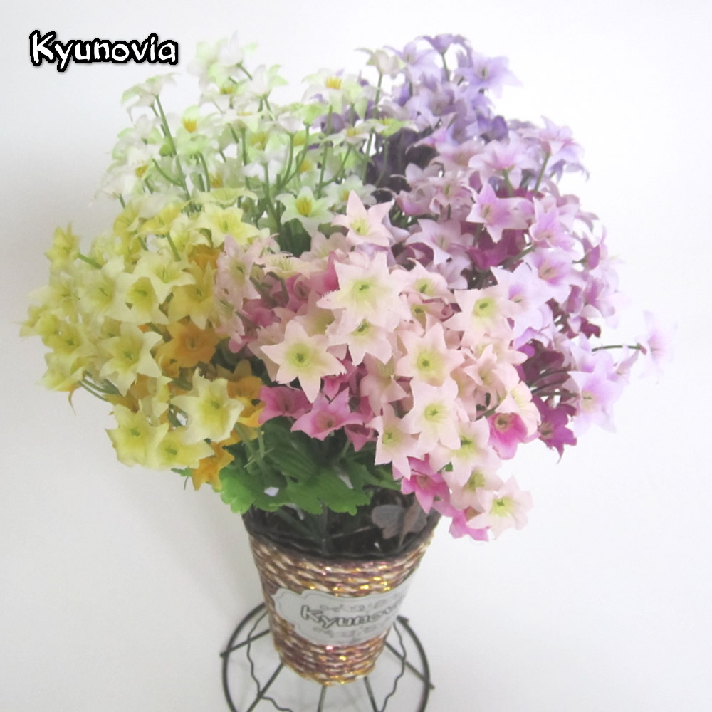 Compare prices on silk flowers bunch online shoppingbuy low kyunovia1 bunch artificial silk flowers chrysanthemum wedding flower home party decoration daisy flower chamomile ky11 dhlflorist Gallery