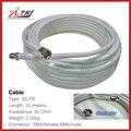 Nueva venta! de calidad superior 10 m ATNJ 3D-FB RG58 SMA-Hembra/SMA-Macho Cable Coaxial
