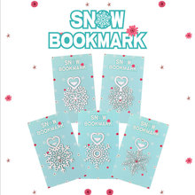 Cute Kawaii metal snow bookmarks mini bookmark stationery bookmarks Lovely Cartoon Promotional Gift school supplies papelaria kawaii unicorn metal bookmark cute animals cactus bookmarks for books paper page marker stationery school supplies