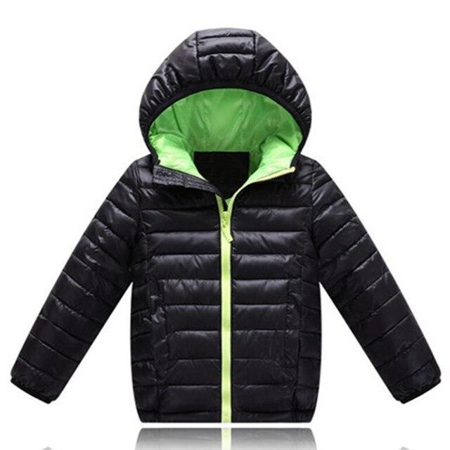Куртка для маленьких мальчиков, зима-осень 2018, куртка для мальчиков, пуховик с капюшоном, детская теплая верхняя одежда, пальто для маленьких мальчиков от 2 до 10 лет