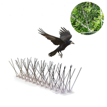 1Pc 28~50cm Plastic Steel Bird Spikes Eco-Friendly Anti Pigeon Nail Deterrent Tool For Pigeons Owl Small Birds Fence