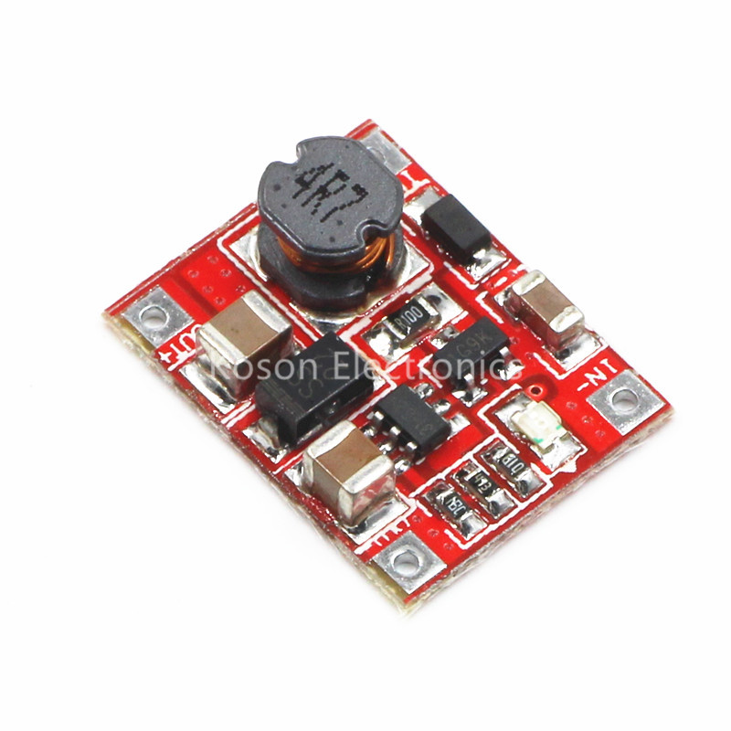 1Pcs DC-DC Power Supply Converter Step Up Boost Module 1A 3V to 5V