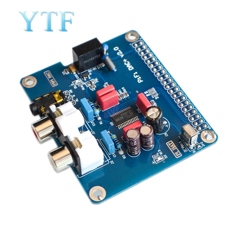 Raspberry Pi 2/3 B Type/2B+ HIFI DAC+ Sound Card I2S Interface