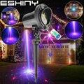 Eshini открытый WF IP44 RGB лазерный 24 большие узоры проектор праздничный дом Вечеринка бар Рождественская елка Стена Пейзаж Сад свет N8T88
