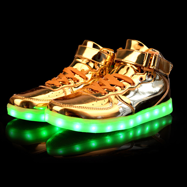 Shoes Woman Led light Shoes For Adults Light Up Shoes Led USB Charging  Flash For Unisex Women s Women Ladies Drop Shipping e387495bf