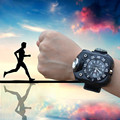 Relogio masculino LED Waterproof Indicator Shows Rechargeable Sport Watches for Men Flashlight Relojes hombre 2016 Feida