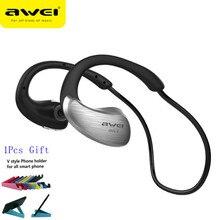 Awei A885BL NFC Беспроводные Стерео Водонепроницаемые Наушники Bluetooth Гарнитуры Спортивные Наушники МИКРОФОН Для Телефона Наушники fone де ouvido(China (Mainland))