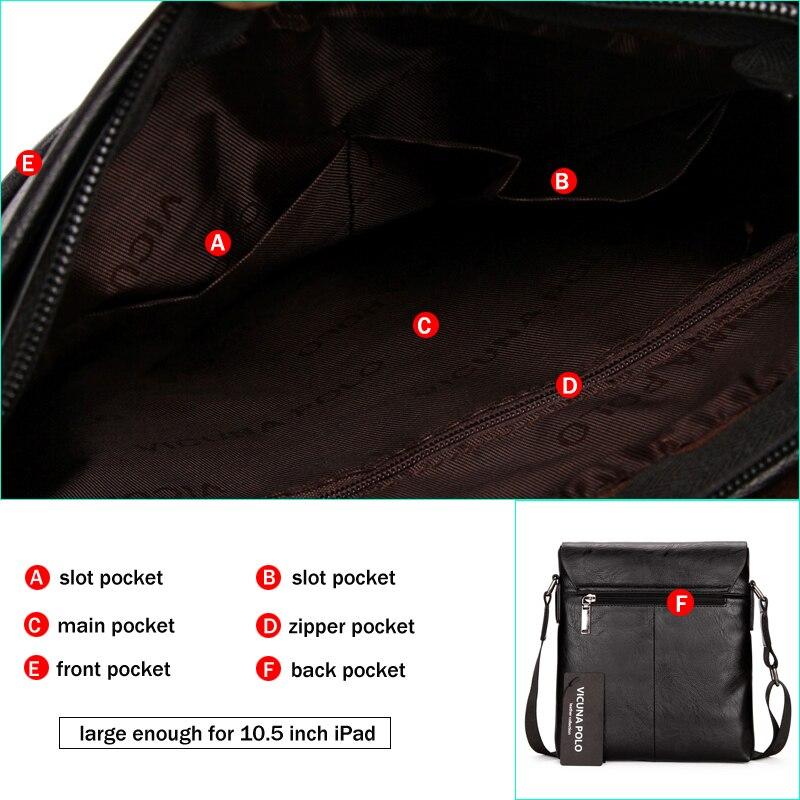 Викуньи POLO Мужчыны сумкі на рамяні - Сумкі - Фота 4