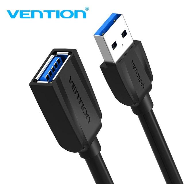Vention USB3.0 הארכת כבל זכר לנקבה USB2.0 הארכת חוט סופר מהירות 3.0 USB Extender נתונים סנכרון כבל עבור מחשב מחשב