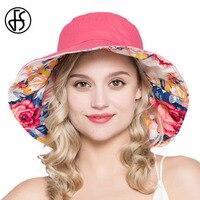 Mode Hüte Damen Sommer Breiter Krempe UV Sonnenhut 2017 Frauen Hüte für Strand Ferien Floppy Sonnenhüte Chiffon Bogen Und Hals Klappe