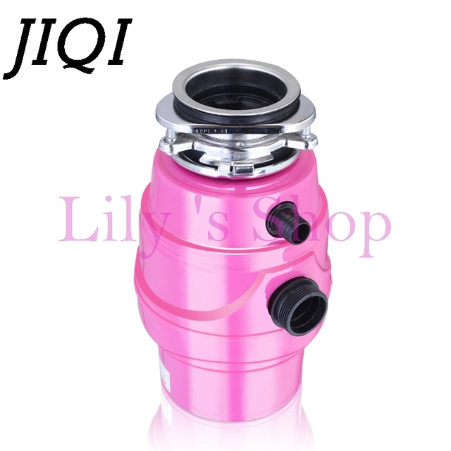 Kitchen Garbage Processor Disposal Crusher Electric Food Waste Disposers  Stainless Steel Sink Grinder Material With Air