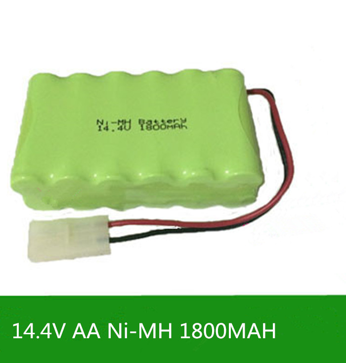 Cncool 2X Original New Ni-MH 14.4V 1800mAh Ni-MH AA Rechargeable Battery Pack With Plugs fast shipping
