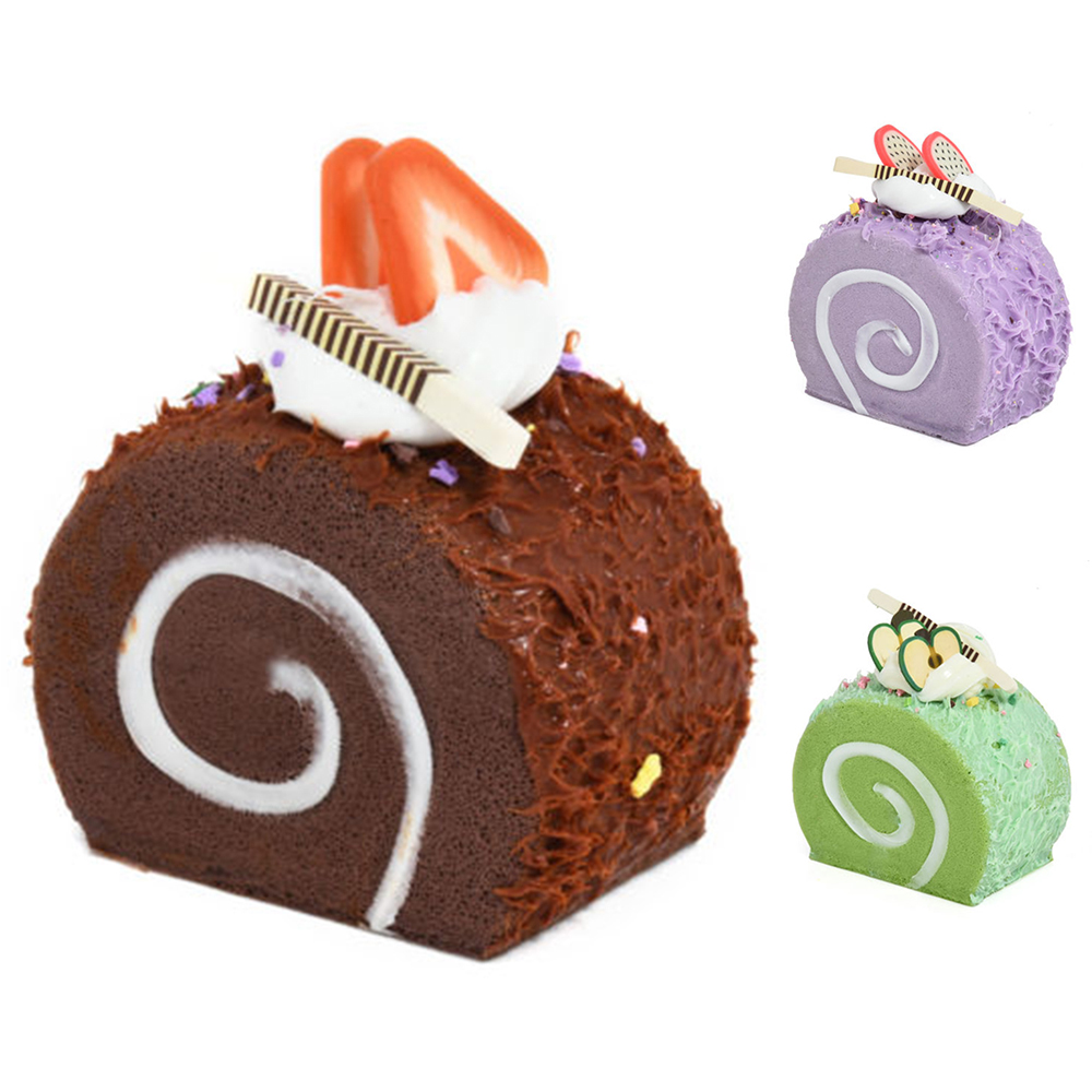 Nordic Style Home Decor Gifts Miniature Craft in Home & Garden Decorations for Fake Cake Dessert Simulation Food DIY Teaching