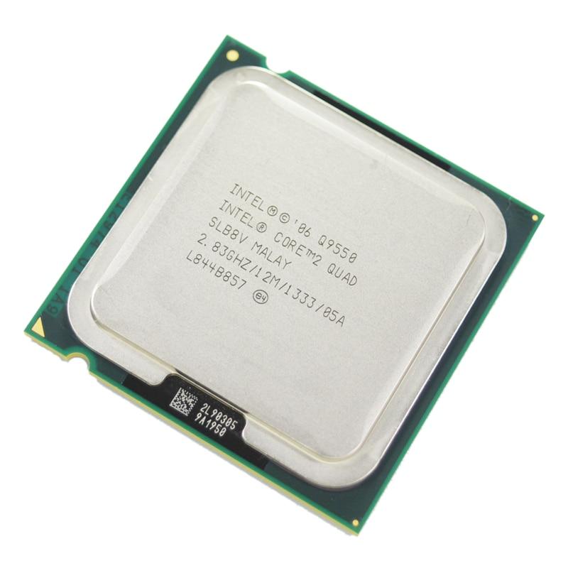 Intel Core 2 quad Q9550 процессор slawq SLB8V 2.83 ГГц 12 МБ 1333 мГц Socket 775 CPU 100% рабочий