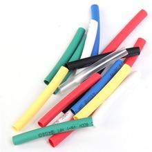 56pcs 7 Colors 4mm Heat Shrink Tube Bag 8pcs each Retardant Polyolefins 2:1 Heat Shrinkable Tubing Wrap Sleeve Assorted Kit