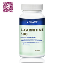 L carnitine add font b fat b font burning and helps recover from sports 90PCS
