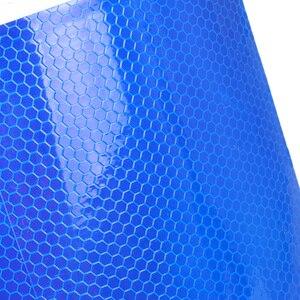 Image 4 - DWCX 300cm X 15cm Reflektierende Sicherheit Warnung Band Film Aufkleber Für Ford Mercedes Toyota Audi VW BMW Kia lexus Nissan Renault Lada