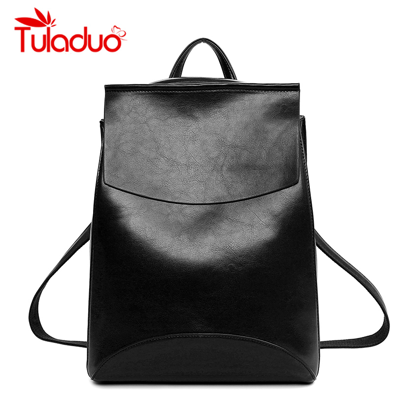 Women Leather Backpack School Bags For Teenagers Laptop Backpacks Top-handle Backpacks New Fashion Student Bags Mochila Escolar  2017 new fashion girls top handle backpacks female pu leather mochila escolar women backpack school bags for teenagers