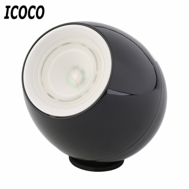 ICOCO Newest Fashion Rechargeable Digital 256 Colors Living Color LED Mood Lighting Night Light Table Lamp Touchscreen