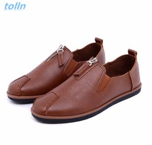 2017 High Quality men Genuine Leather Shoes Soft Moccasins Loafers Fashion Brand Men Flats Comfy Driving Shoes zapatos hombre