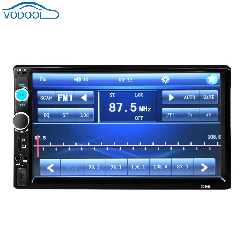 VODOOL 7 Inch 2DIN Car Multimedia Radio MP5 Player With