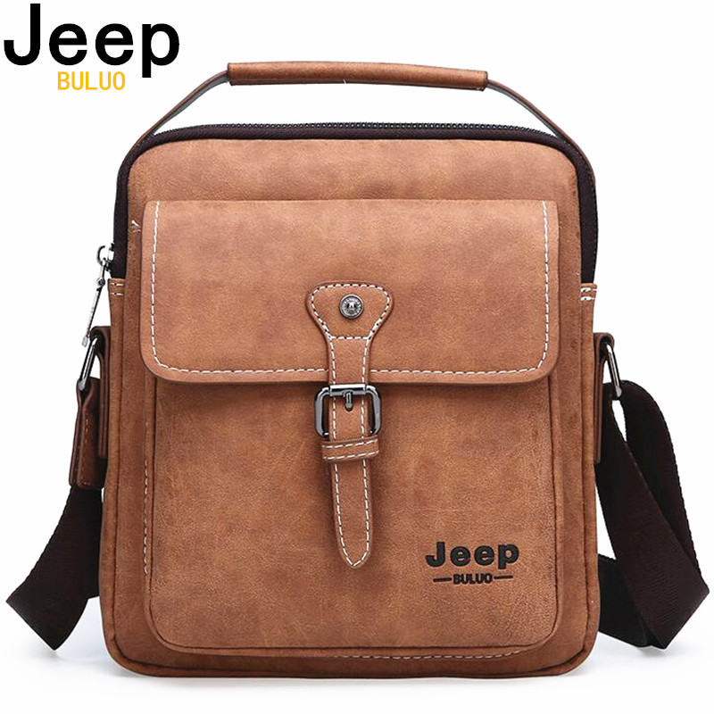 JEEP BULUO Brand New Man Handbag Hot Sale Men Messenger Shoulder Bags Frosted Leather Large Capacity Tote Casual Business BagJEEP BULUO Brand New Man Handbag Hot Sale Men Messenger Shoulder Bags Frosted Leather Large Capacity Tote Casual Business Bag